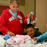 Clothing Distribution 2009