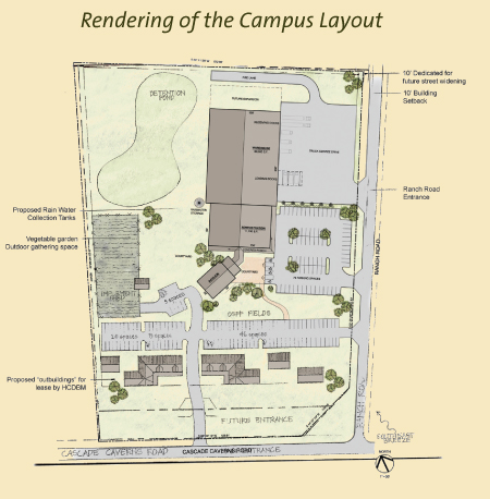 Rendering of Campus
