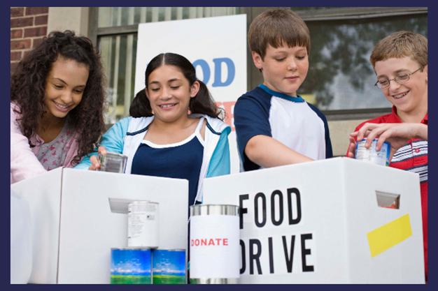 Host a food drive